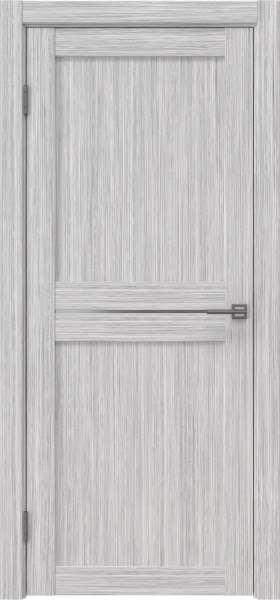 Межкомнатная дверь RM030 (экошпон «серый дуб FL», матовое стекло)