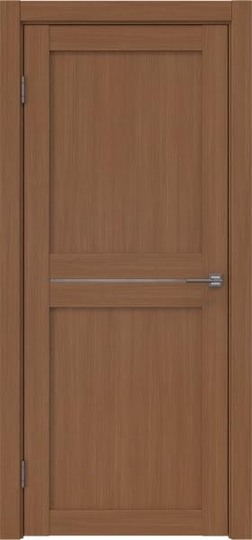 Межкомнатная дверь RM030 (экошпон «орех FL», лакобель белый)