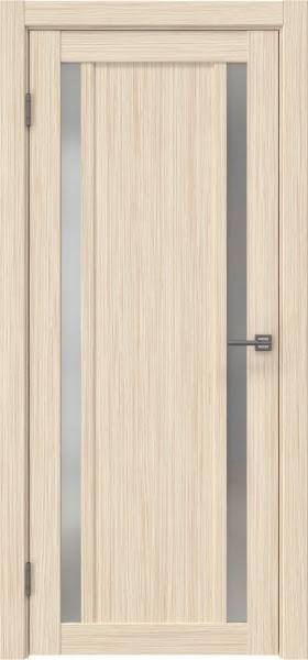 Межкомнатная дверь RM031 (экошпон «беленый дуб FL», матовое стекло)