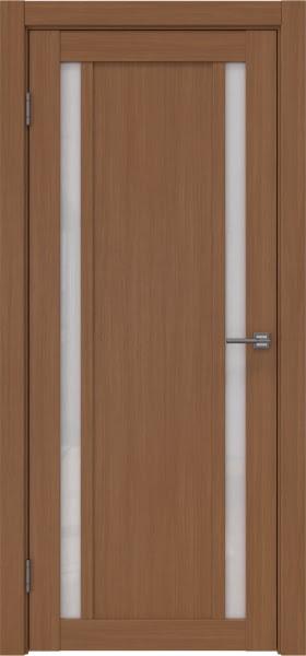 Межкомнатная дверь RM031 (экошпон «орех FL», лакобель белый)