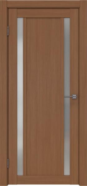 Межкомнатная дверь RM031 (экошпон «орех FL», матовое стекло)