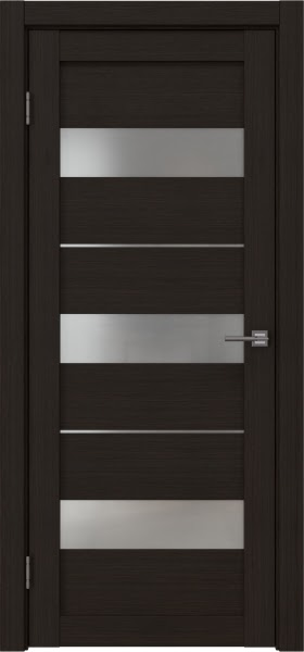 Межкомнатная дверь RM034 (экошпон «венге FL», матовое стекло)