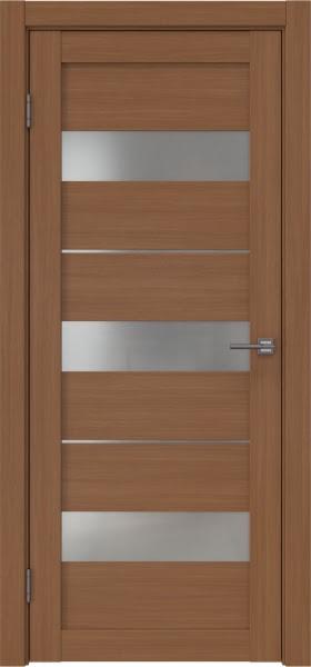 Межкомнатная дверь RM034 (экошпон «орех FL», матовое стекло)
