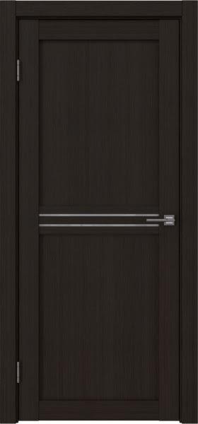Межкомнатная дверь RM035 (экошпон «венге FL», лакобель белый)