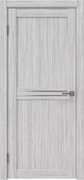 Межкомнатная дверь RM035 (экошпон «серый дуб FL», матовое стекло)