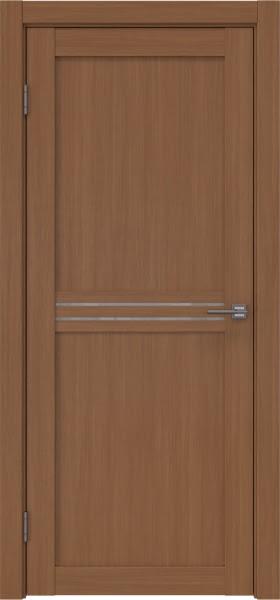 Межкомнатная дверь RM035 (экошпон «орех FL», лакобель белый)