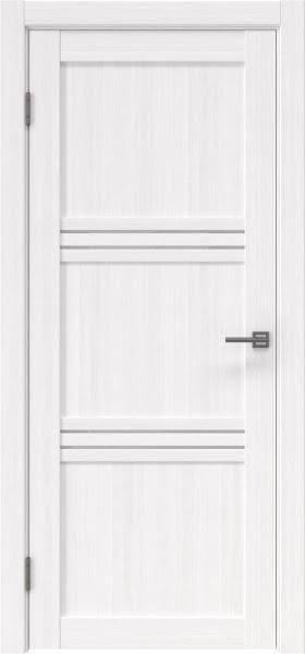 Межкомнатная дверь RM036 (экошпон «белый FL», лакобель белый)