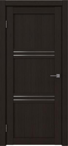 Межкомнатная дверь RM036 (экошпон «венге FL», матовое стекло)