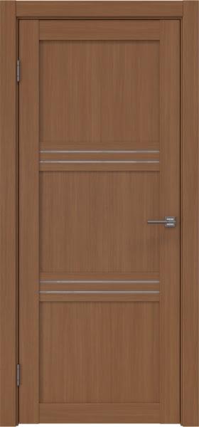 Межкомнатная дверь RM036 (экошпон «орех FL», лакобель белый)