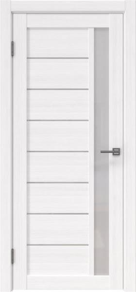 Межкомнатная дверь RM037 (экошпон «белый FL», лакобель белый)