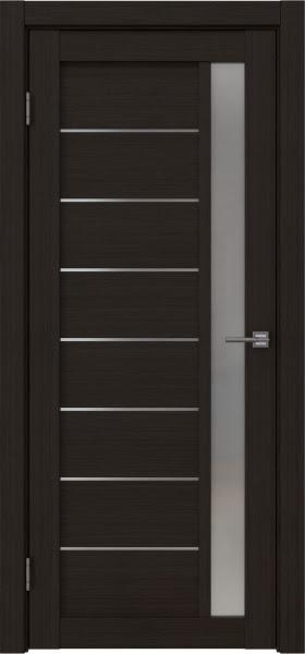 Межкомнатная дверь RM037 (экошпон «венге FL», матовое стекло)