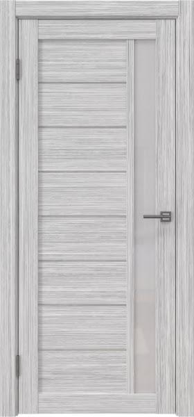 Межкомнатная дверь RM037 (экошпон «серый дуб FL», лакобель белый)