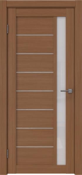 Межкомнатная дверь RM037 (экошпон «орех FL», лакобель белый)