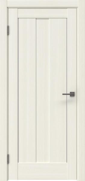 Межкомнатная дверь RM042 (экошпон «сандал белый» / глухая)
