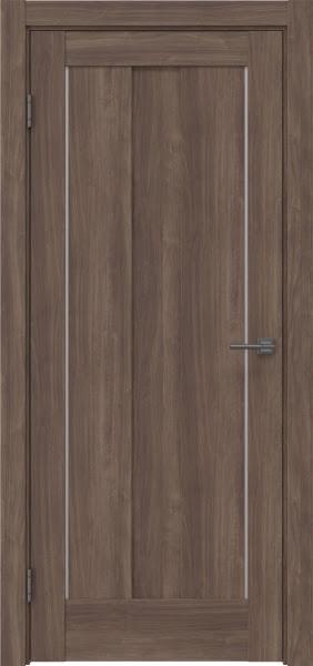 Межкомнатная дверь RM042 (экошпон «античный орех» / глухая)