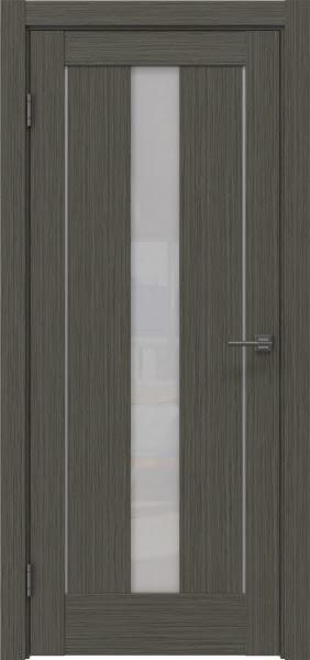 Межкомнатная дверь RM043 (экошпон «грей мелинга» / лакобель белый)