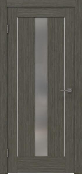 Межкомнатная дверь RM043 (экошпон «грей мелинга» / матовое стекло)