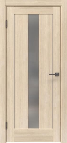 Межкомнатная дверь RM043 (экошпон «капучино мелинга» / матовое стекло)
