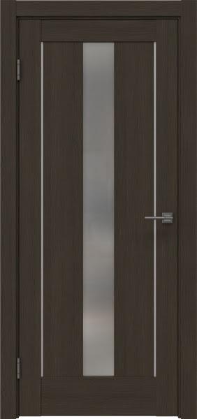 Межкомнатная дверь RM043 (экошпон «мокко» / матовое стекло)
