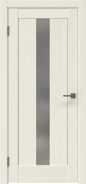 Межкомнатная дверь RM043 (экошпон «эш вайт мелинга» / матовое стекло)