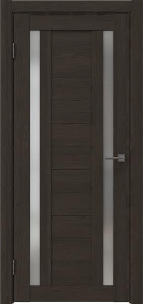 Межкомнатная дверь RM045 (экошпон «венге мелинга» / матовое стекло)