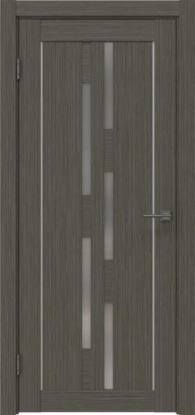Межкомнатная дверь RM046 (экошпон «грей мелинга» / матовое стекло)