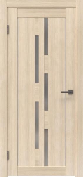 Межкомнатная дверь RM046 (экошпон «капучино мелинга» / матовое стекло)