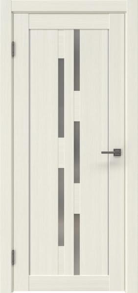 Межкомнатная дверь RM046 (экошпон «эш вайт мелинга» / матовое стекло)