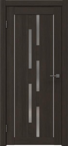 Межкомнатная дверь RM046 (экошпон «венге мелинга» / матовое стекло)