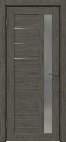 Межкомнатная дверь RM047 (экошпон «грей мелинга» / матовое стекло)