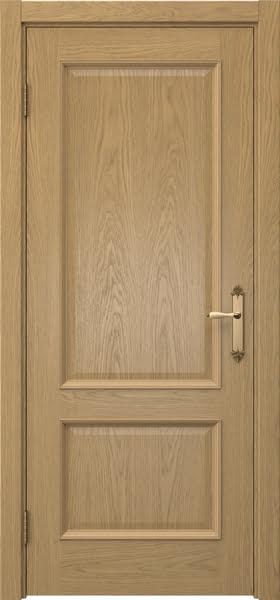 Межкомнатная дверь SK002 (натуральный шпон дуба / глухая)