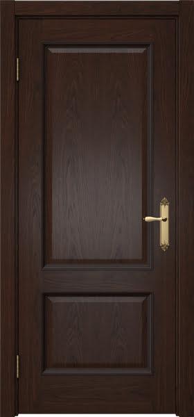 Межкомнатная дверь SK002 (шпон дуб коньяк / глухая)