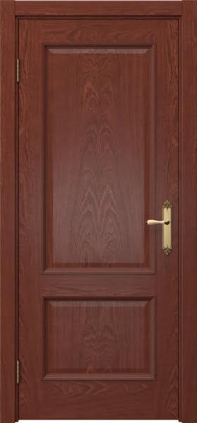 Межкомнатная дверь SK002 (шпон красное дерево / глухая)