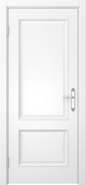 Межкомнатная дверь SK002 (эмаль белая / глухая)