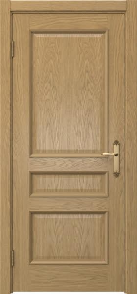 Межкомнатная дверь SK003 (натуральный шпон дуба / глухая)