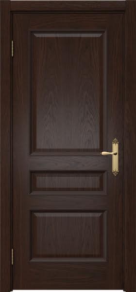 Межкомнатная дверь SK003 (шпон дуб коньяк / глухая)