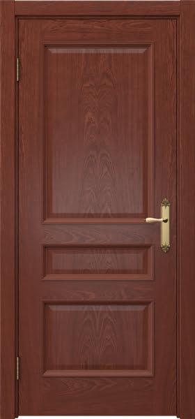 Межкомнатная дверь SK003 (шпон красное дерево / глухая)