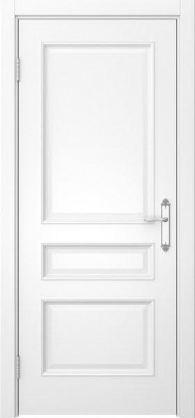 Межкомнатная дверь SK003 (белая эмаль / глухая)