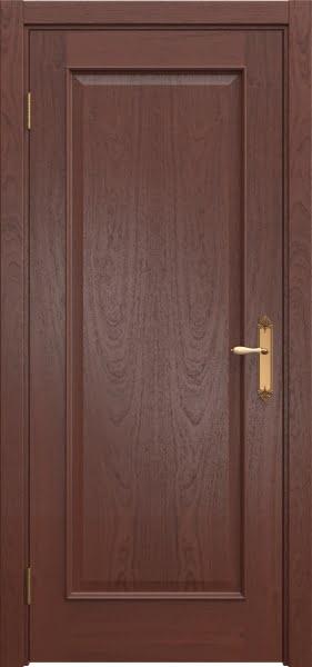 Межкомнатная дверь SK005 (шпон красное дерево / глухая)