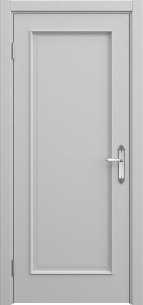 Межкомнатная дверь SK005 (эмаль серая / глухая)