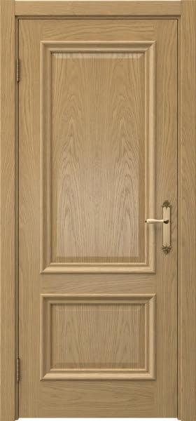 Межкомнатная дверь SK006 (натуральный шпон дуба / глухая)