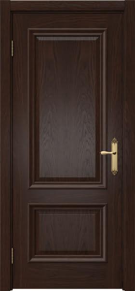 Межкомнатная дверь SK006 (шпон дуб коньяк / глухая)