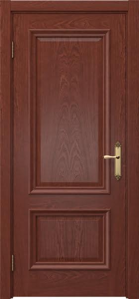 Межкомнатная дверь SK006 (шпон красное дерево / глухая)