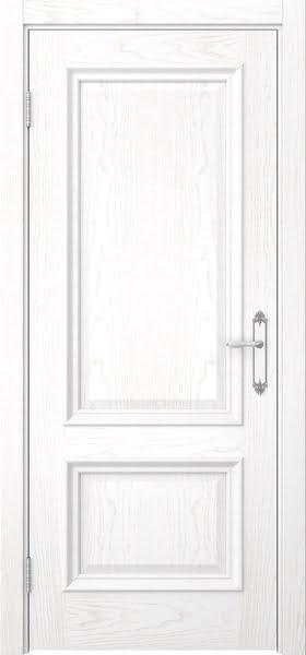 Межкомнатная дверь SK006 (шпон ясень белый / глухая)