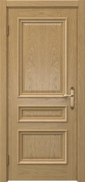 Межкомнатная дверь SK007 (натуральный шпон дуба / глухая)