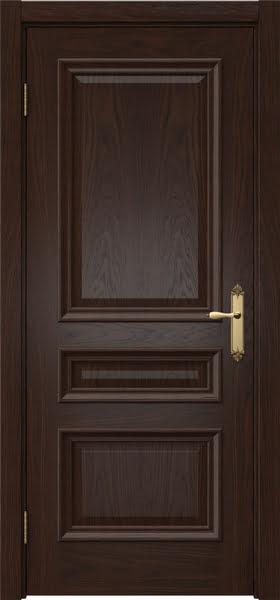 Межкомнатная дверь SK007 (шпон дуб коньяк / глухая)