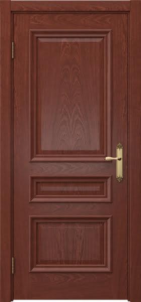 Межкомнатная дверь SK007 (шпон красное дерево / глухая)