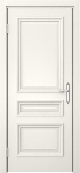 Межкомнатная дверь SK007 (эмаль слоновая кость / глухая)