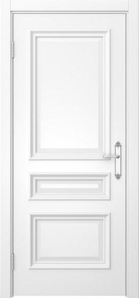 Межкомнатная дверь SK007 (белая эмаль / глухая)