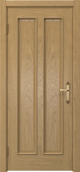 Межкомнатная дверь SK008 (натуральный шпон дуба / глухая)
